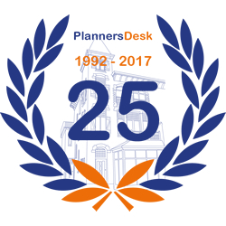 25 jaar jubileum Plannersdesk